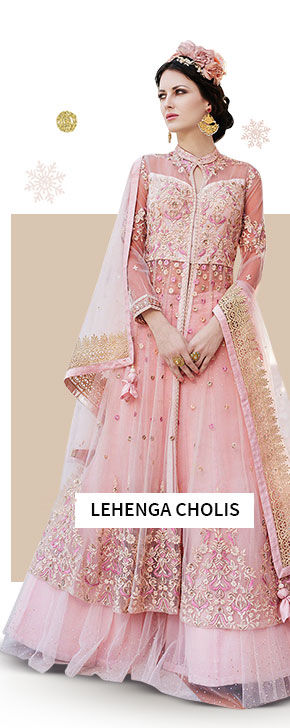 Lehenga Cholis for winter. Shop!