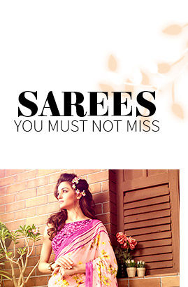 Beautiful Chiffon Sarees. Shop!