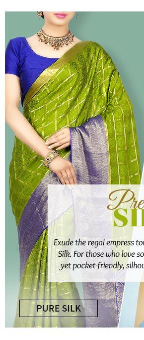 Up to 70% Off on Silk Sarees, Salwar Suits, Handbags & more. Buy Now!