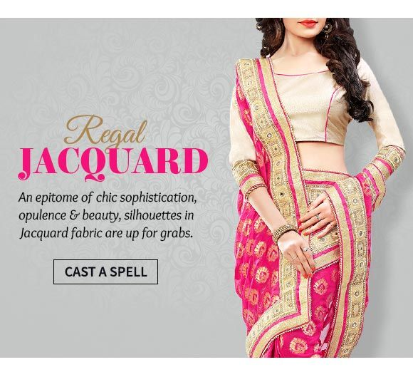 Up to 70% Off on Jacquard Sarees, Salwar Suits, Menswear & more. Buy Now!