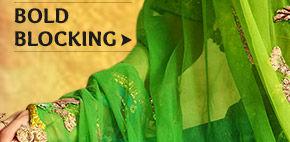 An inspiring range of Sarees, Salwar Suits, Lehengas & more in Block Prints. Buy Now!