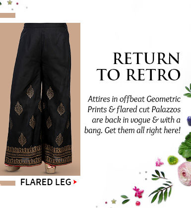 A wide array of smart Palazzos. Buy Now!