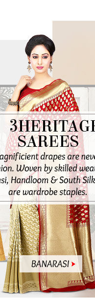 Pick your favorite from our exquisite range of Banarasi Sarees. Buy Now!