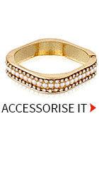Shop Pearls & Stone studded Bracelet