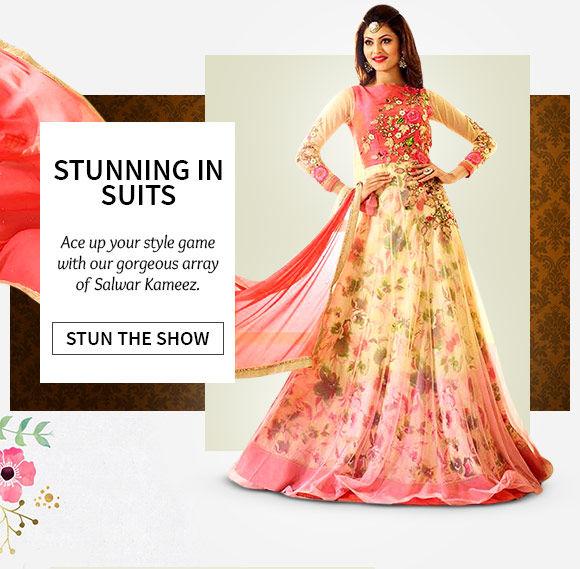 Plus size in Salwar Kameez. Buy Now!