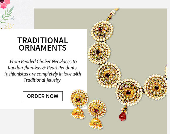 Choose from our wide range of Traditional Jewelry. Buy Now!