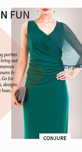 A wide array of gorgeous Dresses. Shop Now!