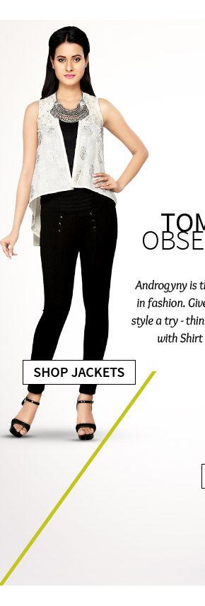 A versatile range of Ethnic Jackets. Shop Now!