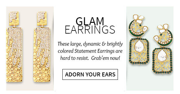Beautiful Chandbalis, Hoops, Studs, Danglers, Droplets & more.