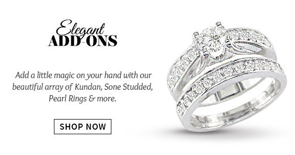 A wide array of beautiful Adjustable Rings. Buy Now!