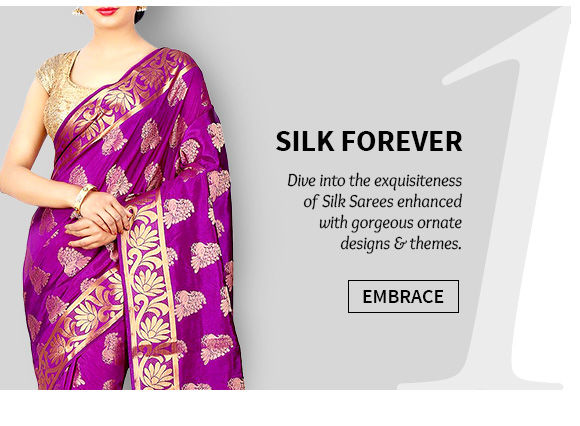 Kanchipuram, Bangalore, Mysore & Uppada Silk Sarees. Shop Now!
