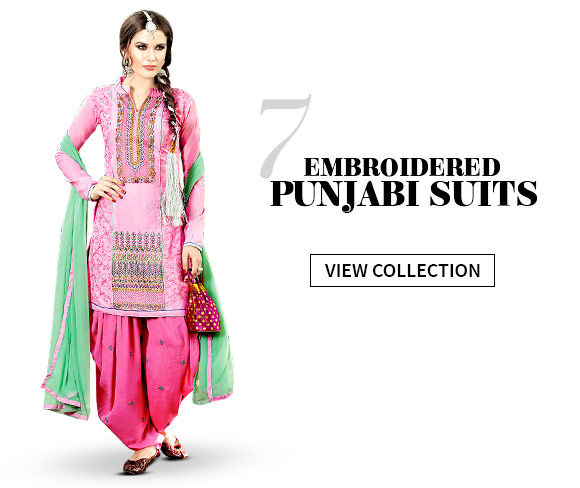 Pick your favorite from our vibrant array of Punjabi Suits. Buy Now!
