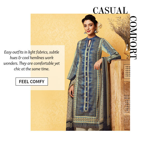 A versatile range of Contemporary Attire. Buy Now!