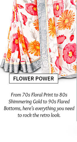 Lovely array of Sarees, Salwar Suits, Lehenga Cholis & more in Floral print. Shop Now!