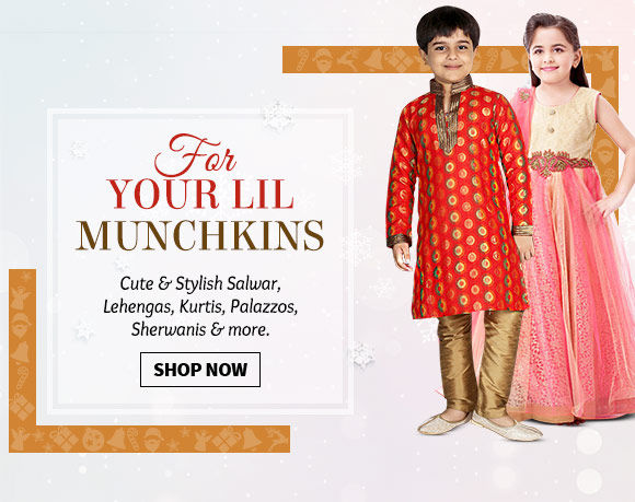 A beautiful collection of Kids wear. Buy Now!
