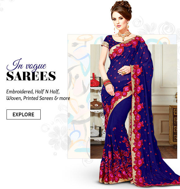Our wide range of beautiful Sarees. Buy Now!