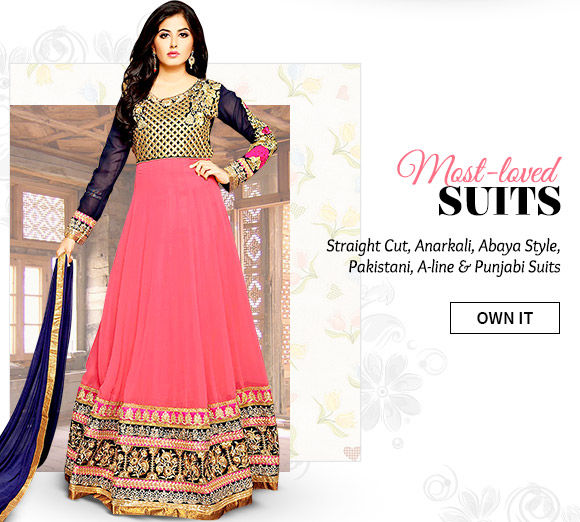 Our beautiful collection of Salwar Suits. Buy Now!