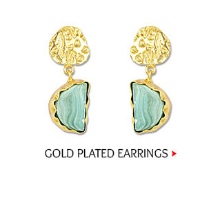 Gold Plated Stone Studded Earring Shop Now!