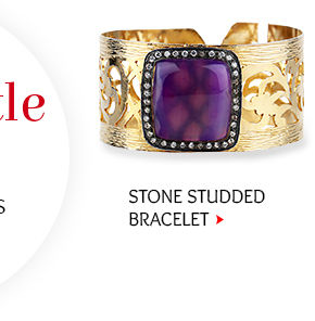 Stone Studded Adjustable Bracelet Shop Now!