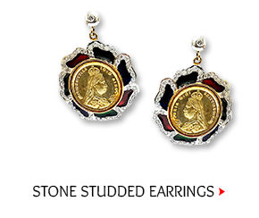 Stone Studded Earring Shop Now!