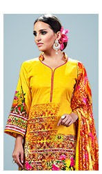 A gorgeous repertoire of Indian Ethic Wear in Yellow hues. Shop Now!