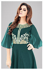 Go Green in a versatile range of Indian Ethnic Wear. Shop Now!