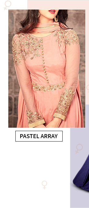 Clothes in Pastel hues. Shop!