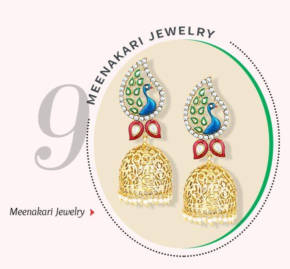 Meenakari Jewelry. Shop Now.