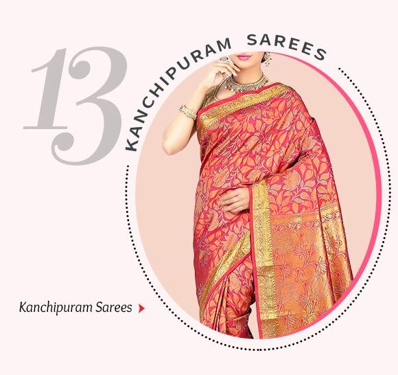 Kanchipuram Sarees. Hurry now!