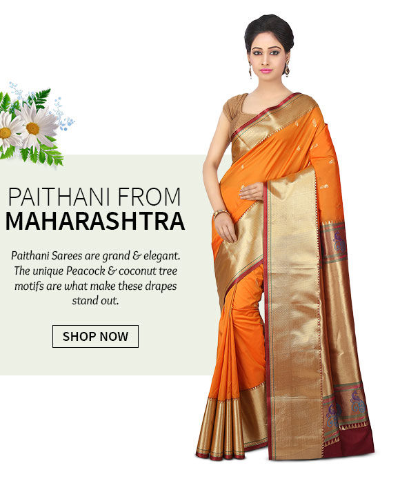 A lovely repertoire of Paithani Sarees.