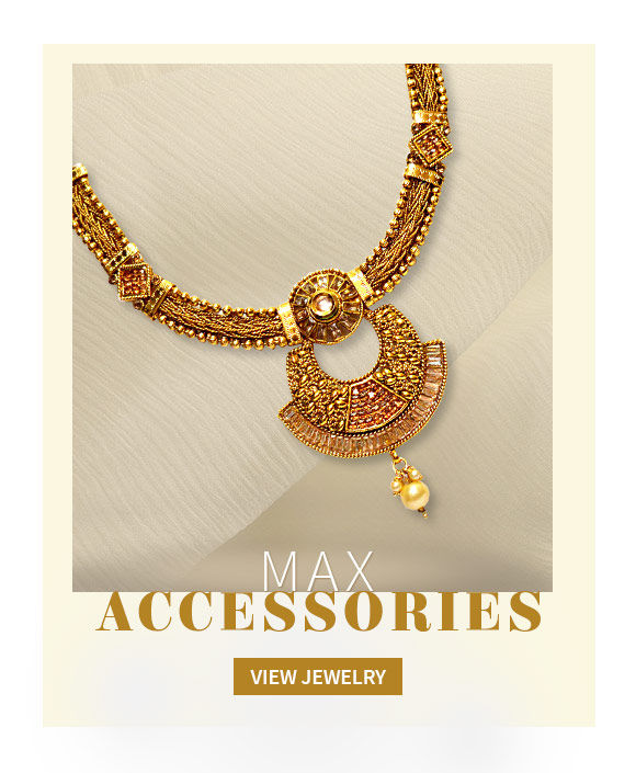 A beautiful repertoire of Earrings, Bangles, Necklaces & more. Shop Now!