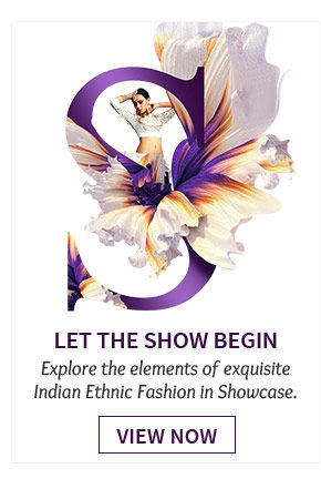 Experience the new & extraordinary nuances of Ethnic Fashion. Indulge!