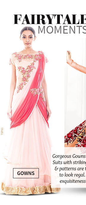 A beautiful range of Gowns. Shop Now!