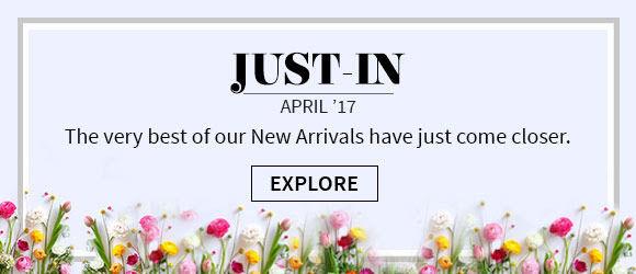 Wide range of newly arrived attires on Utsav Fashion. Shop Now!