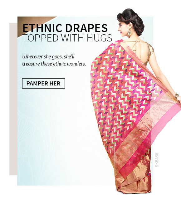 Handwoven Regional Sarees for Mother's Day. Shop!