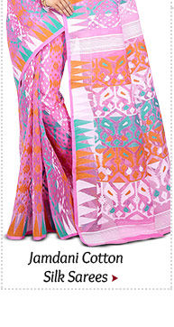 Shop from our Wide range of Jamdani Sarees!