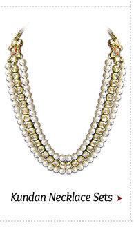 Shop our Kundan Necklace Sets!
