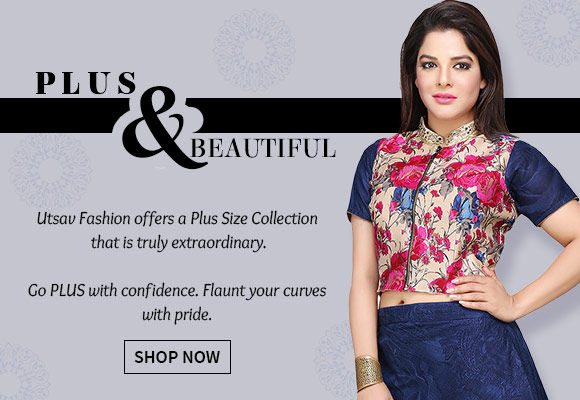 A versatile range of Attires in Plus Size. Shop Now!
