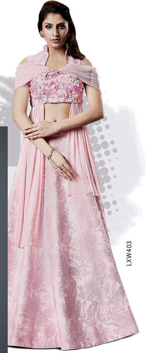 Art Silk Lehenga Cholis. Shop!