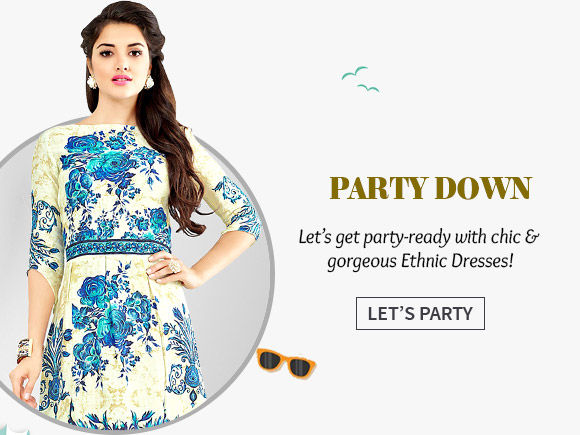 A gorgeous repertoire of Ethnic Dresses. Shop Now!