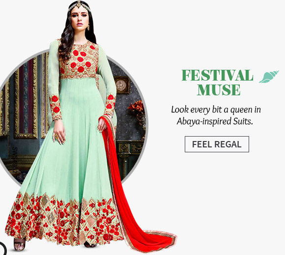 A wide range of Abaya Style Suits. Shop Now!