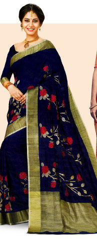 A wide array of classic Woven Sarees. Shop Now!