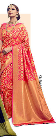 A lovely collection of Kanchipuram Sarees. Shop Now!