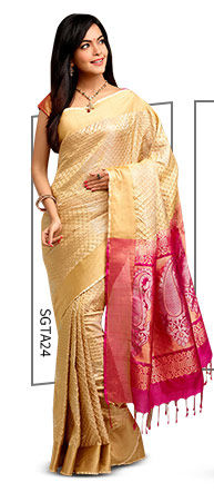 A lovely range of Pure Silk Sarees. Shop Now!