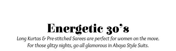 Energetic 30's