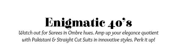 Enigmatic 40's