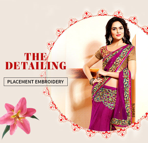A lovely collection of Attires with Placement Embroidery. Shop Now!
