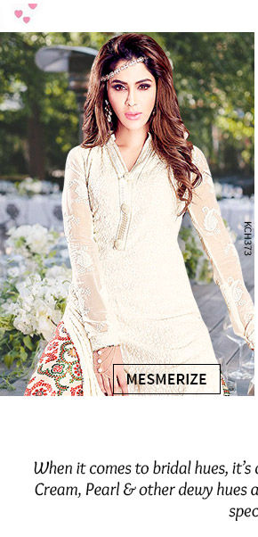 A wide array of beautiful Party Salwar Suits in White color. Shop Now!