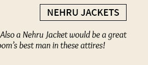 A wide range of stylish Nehru Jackets. Shop Now!