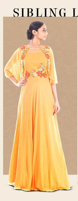A wide array of gorgeous Ethnic Gowns. Shop Now!